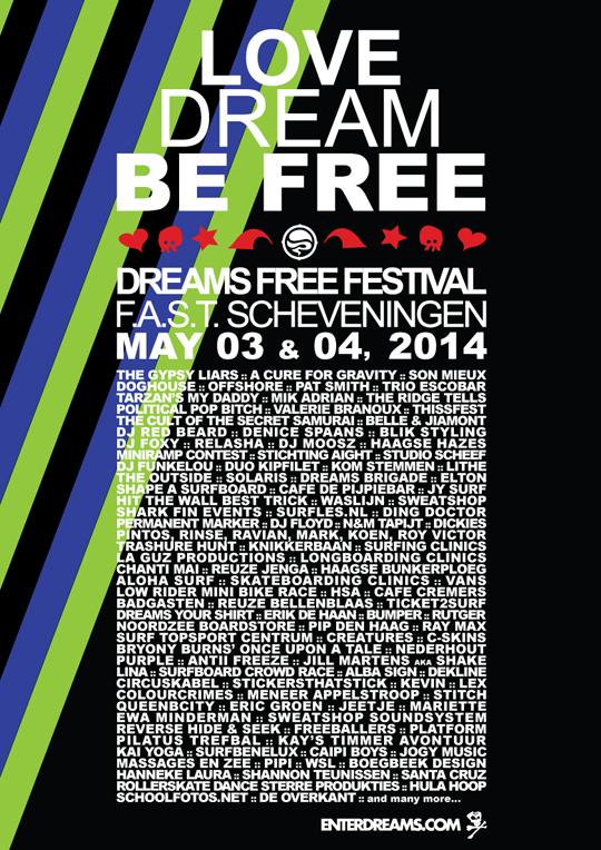 Dreams Free Festival 2014