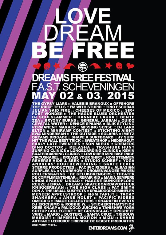 Dreams free festival 2015